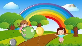 Lagu Anak Anak Balon ku kartun dan Animasi Lagu Balonku Ada Lima