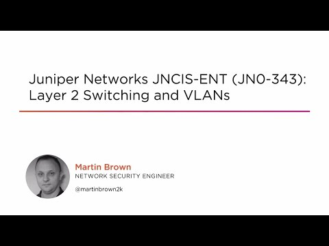 Layer 2 Switching and VLANs in Junos OS | Pluralsight