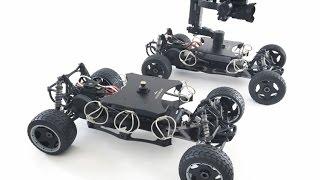 DJI OSMO Z AXIS TEST FOOTAGE - RC Camera Buggy with DJI Ronin Gimbal