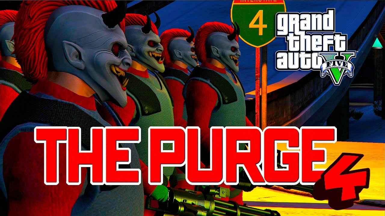 Download GTA 5 ONLINE - THE PURGE SEASON 3 PART 4