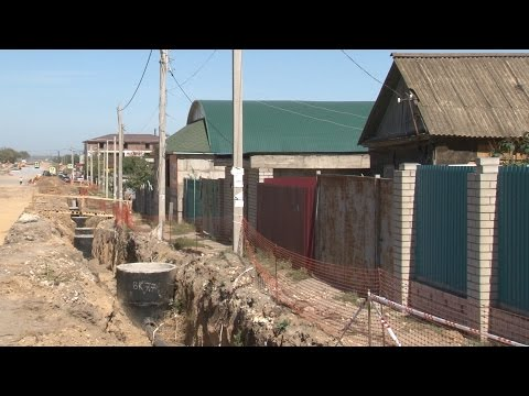 Дорожники устраняют просчеты проектировщиков на строительстве улицы в поселке Гумрак Волгограда
