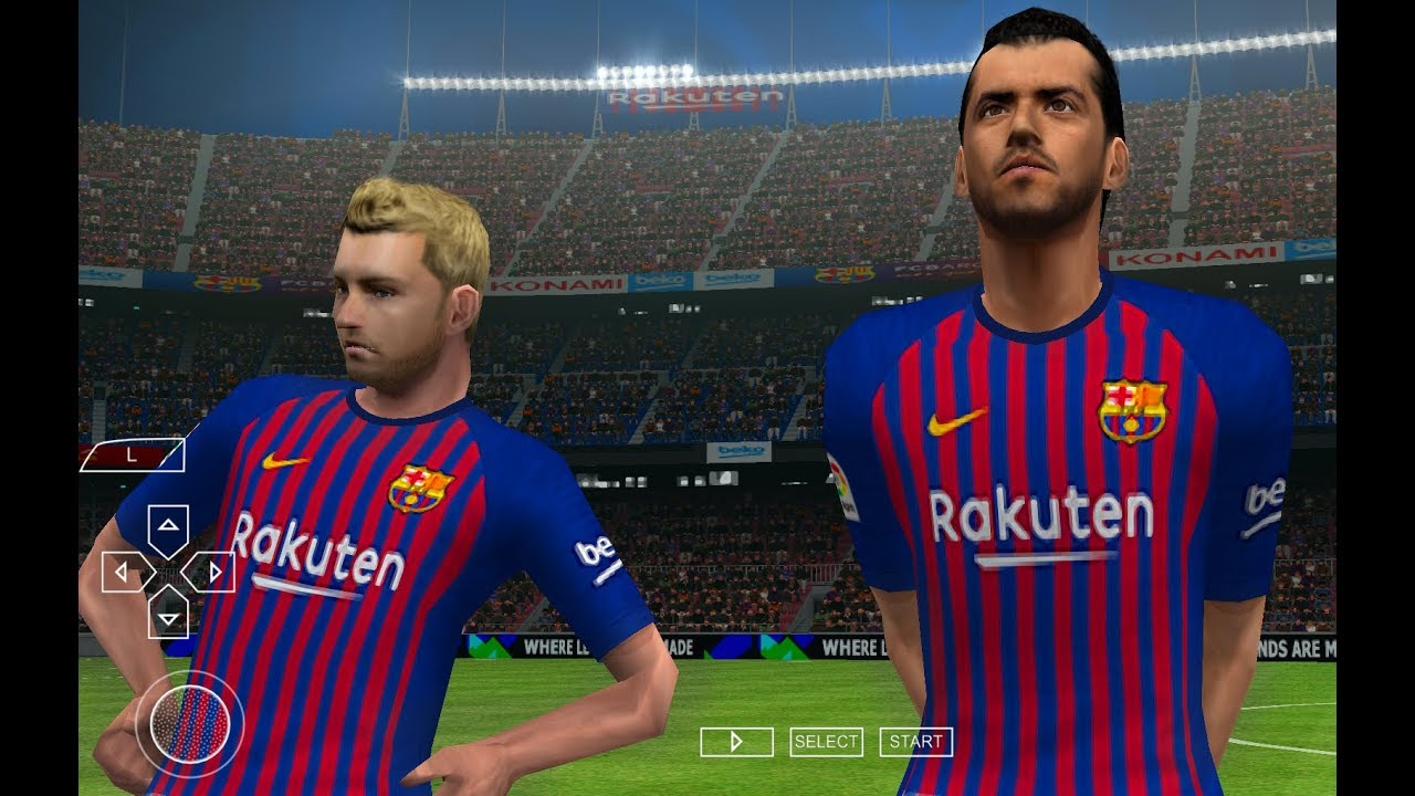 PES 2019 PPSSPP Android Offline 900MB Best Graphics New Kits & Transfers  Update by iDroid Games