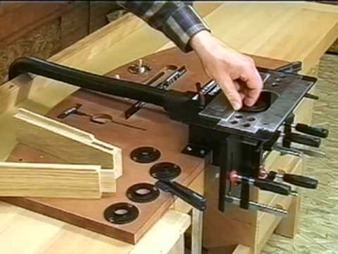 Trend Mortise Amp Tenon Jig Youtube