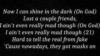 21 Savage All My Friends Official Lyrics