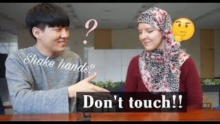 Why can't you touch a Muslim girl?