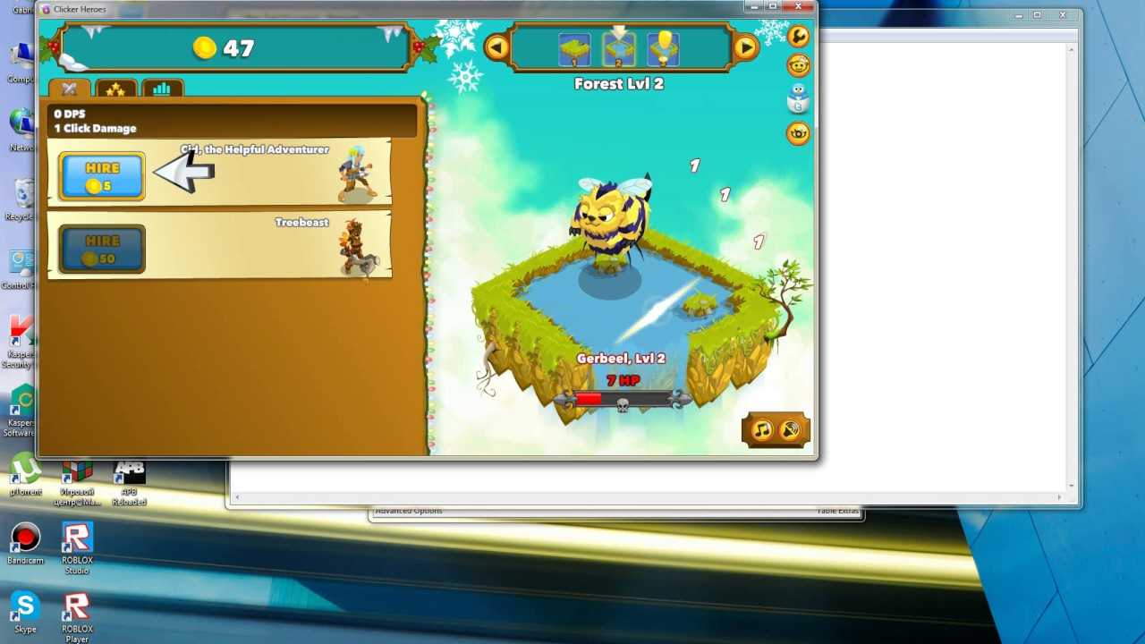 clicker heroes cheat gain coins faster download on description