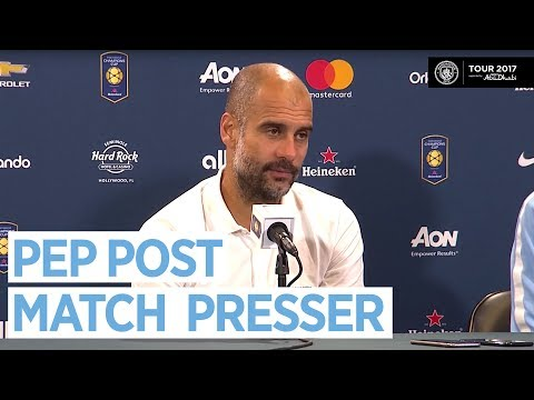 PEP GUARDIOLA POST MATCH PRESS CONFERENCE | Man City 4-1 Real Madrid