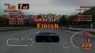 Gran Turismo 2 - Vector W8 vs fastest cars
