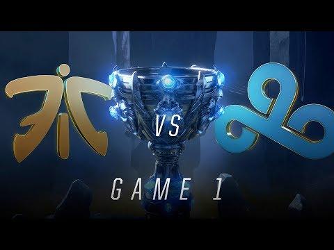 FNC vs C9 | Semifinal Game 1 | World Championship | Fnatic vs Cloud9 (2018)