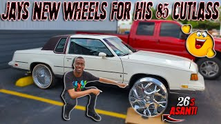 jay-is-putting-26s-on-his-86-cutlass-what-y-all-think