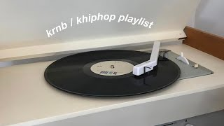 soft krnb/khiphop playlist [studying/relaxing/vibe]