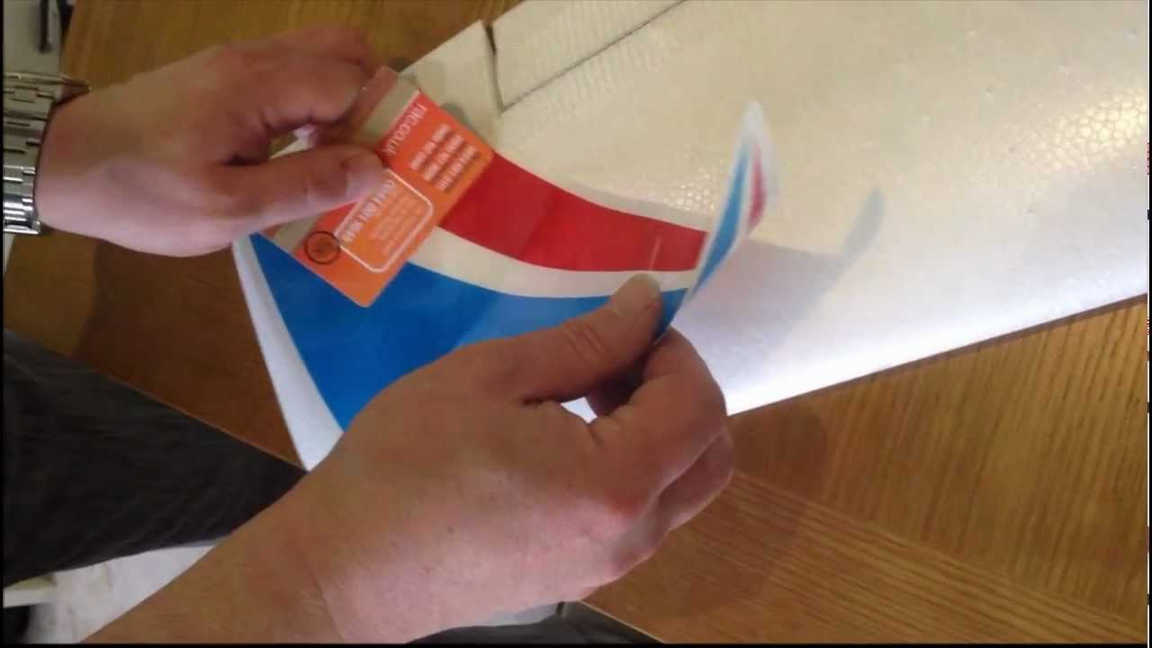 How To Put Decals On Model Rc Plane Using A Debit Credit Or Store - Vinyl stickers for rc boats