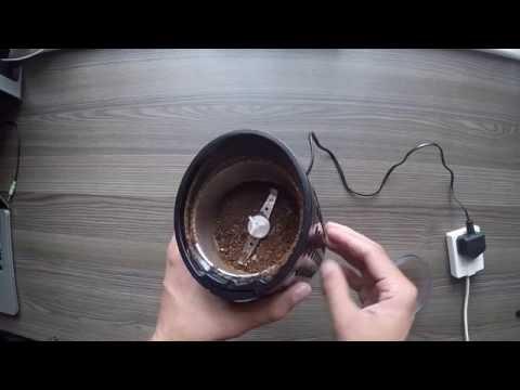 Savisto Coffee Bean, Spice & Nut Grinder Unboxing & Review