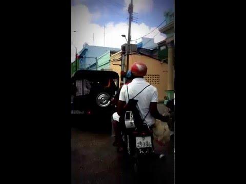 Moto Taxi Ride - Santiago De Cuba, May 9, 2016