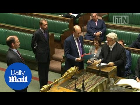 Mark Reckless sworn in as UKIP's second MP - Daily Mail