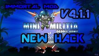 Mini Militia Best MOD Immortal Mod -TOGGLE MOD v42