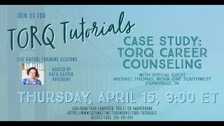 TORQ Tutorials April 15, 2021