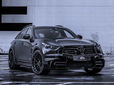 This Infiniti Qx70 Lr3 Widebody Is One Badass Suv Ahg Sports Youtube