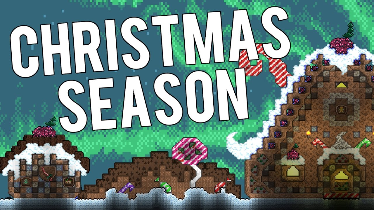 Terraria Christmas.Christmas Event Terraria 1 3 4 Present Afk Farm And Pc Facts