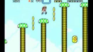 Super Mario World: Butter Bridge 1 Tricks