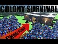 Colony Survival - THE CHOKE POINT, BIGGER COLONY, MINING & MORE! - Colony Survival Gameplay Part 2