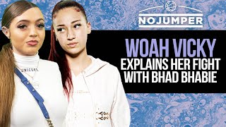 Woah Vicky Explains Her Fight With Bhad Bhabie