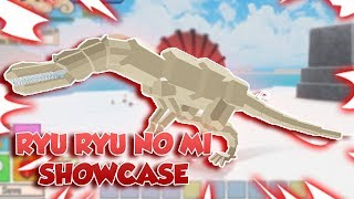 RYU RYU NO MI SHOWCASE! | One Piece Final Chapter 2 | ROBLOX