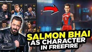 SALMAN KHAN as character in freefire   gaming Freak