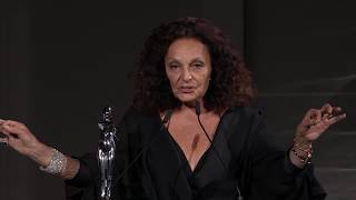 2018 CFDA Fashion Awards: Diane von Furstenberg Receives Swarovski Award for Positive Change