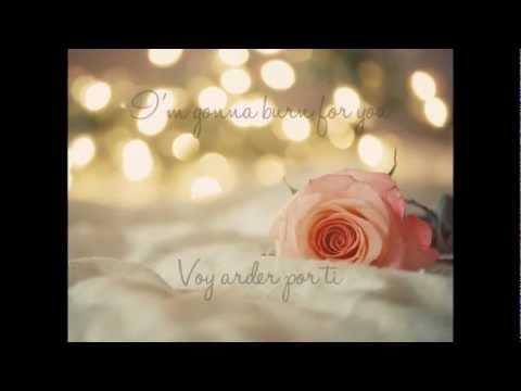 Give in to me - Leighton Meester & Garrett Hedlund - Lyrics -Spanish~English