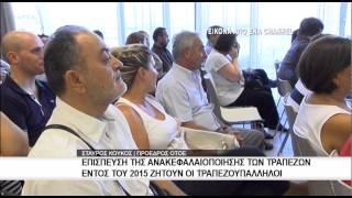 ΟΤΟΕ | Άμεσα να γίνει η ανακεφαλαιοποίηση των τραπεζών