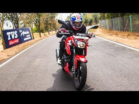2018 TVS Apache 160 - 0-100 km/hr & Top Speed   MotorBeam