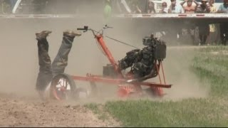 Wacky racers! Garden tillers compete for world championship title