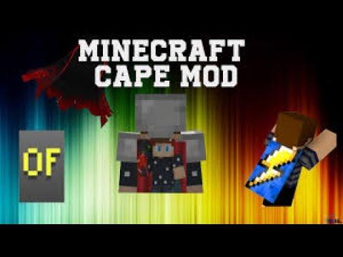 Minecraft Cape Modu! Nasıl Yapılır - YouTube