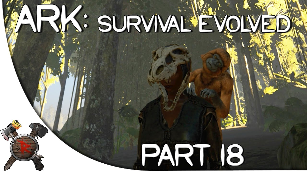 Ark survival evolved gameplay part 18 mesopithecusmonkey ark survival evolved gameplay part 18 mesopithecusmonkey tamed season 2 youtube malvernweather Image collections