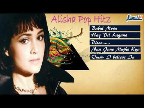 Alisha Chinai Pop Hitz || Alisha Chinai indian Pop Queen || Babul Mora