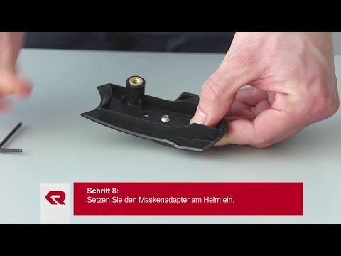 Rosenbauer Firefigthing helmet HEROS-titan - Mask adapter