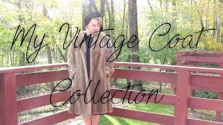 My Vintage Coat Collection