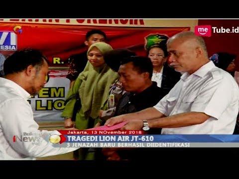 Tiga Jenazah Korban Lion Air Kembali Teridentifikasi Tim DVI RS Polri - BIP 13/11 Mp3