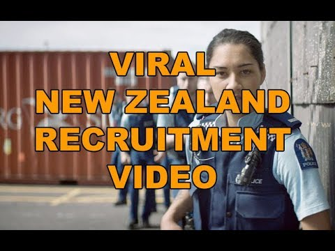 Police Recruitment Video, New Zealand Goes Viral - LEO Round Table episode 421