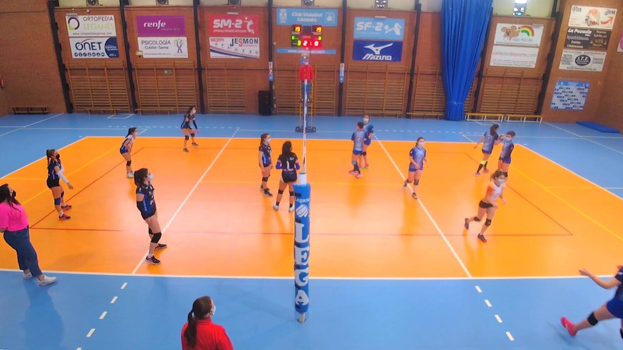 Partido juvenil femenino B | CV Leganés vs CUVA