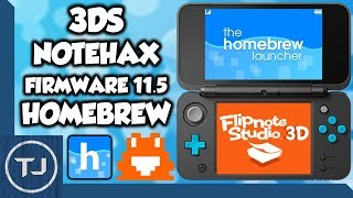 NEW! How To Homebrew 3DS 11.5! Notehax! (Flipnote Exploit) 2017!