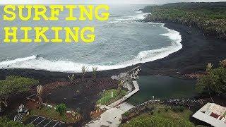 Hawaii Lava Flow Hike To Pohoiki Beach