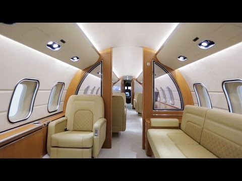Automotive-Inspired Interior Design for Bombardier Global 6000 – AINtv