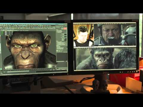 Dawn of the Planet of the Apes - Weta Featurette