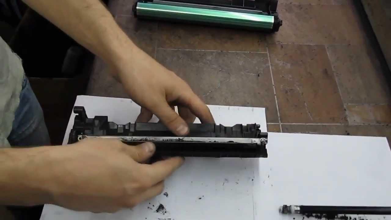 Инструкция заправки картриджей лазерного принтера