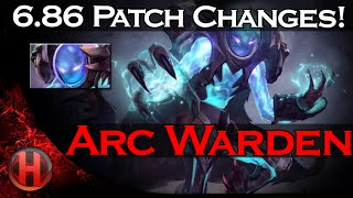6.86 Patch Changes Dota 2 - New Hero Arc Warden Preview!