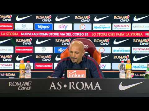 Spalletti in conferenza stampa Roma-Torino (VIDEO INTEGRALE HD) 18.02.17