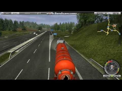 German Truck Simulator- Delivering in time Hot Chemicals to Berlin