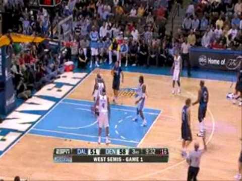 Mavs-Nuggets 95-109 I Nowitzki 28pts,10reb,Terry 15pts vs Nene 24pts,5ast,Anthony 23pts,5reb